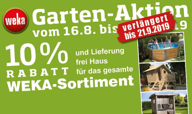 Weka Sommer-Deal mit 10% Rabatt