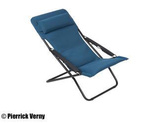 Lafuma Liegestuhl Transabed Plus Air Comfort Blau Coral Blue Kaufen