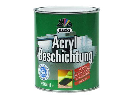 Meffert AG Farbwerke Düfa Acryl Beschichtung 750ml 0160 ziegelrot bei handwerker-versand.de günstig kaufen