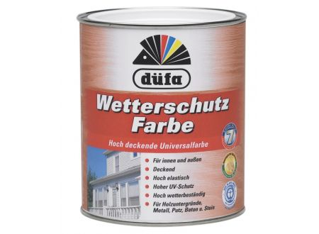 Schlau Düfa Acryl-Wetterschutzfarbe 750ml, dunkelbraun bei handwerker-versand.de günstig kaufen
