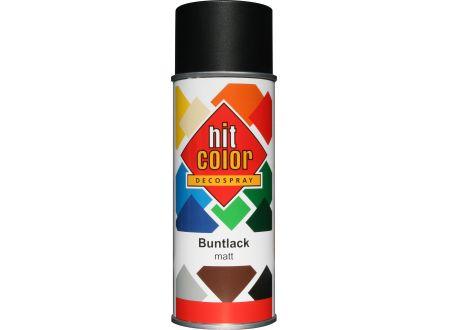 Hitcolor Spraylack 400 ml schwarz matt bei handwerker-versand.de günstig kaufen