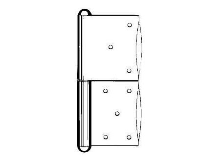 Simonswerk Türbänder verzinkt G 1 160 mm rechts bei handwerker-versand.de günstig kaufen