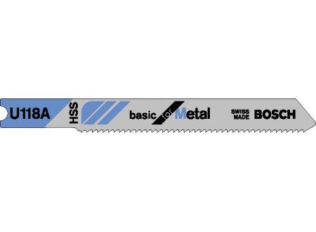 Bosch 3 Stichsägeblätter U 118 A bei handwerker-versand.de günstig kaufen