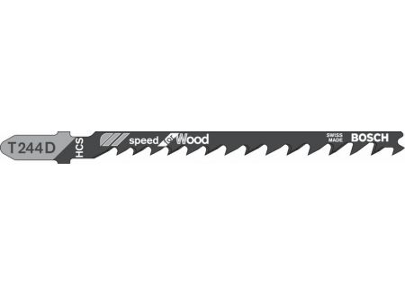 Bosch 25 Stichsägeblätter T 244 D bei handwerker-versand.de günstig kaufen