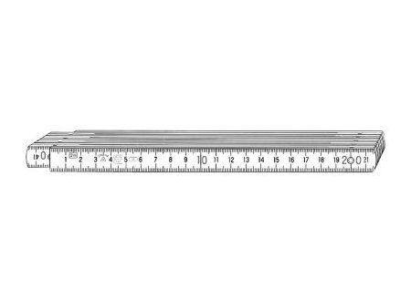 Stabila Gliedermaßstab Kunststoff Nr. 1007 bei handwerker-versand.de günstig kaufen