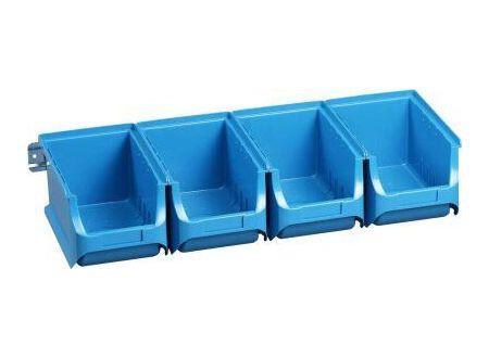 Allit AG Sichtboxen-Set blau 150x235x125mm 1 Stück bei handwerker-versand.de günstig kaufen