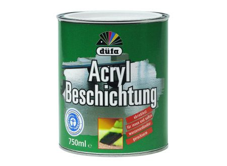 Meffert AG Farbwerke Düfa Acryl Beschichtung 750ml RAL 6011 resedagrün bei handwerker-versand.de günstig kaufen