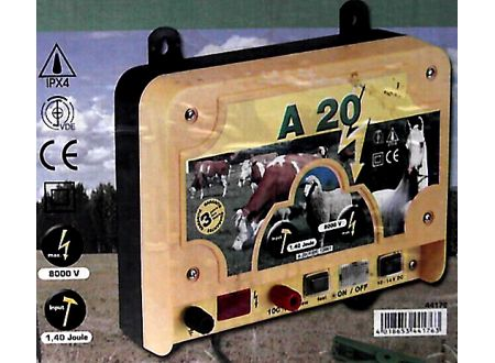Kerbl A20 - 12V Weidezaungerät