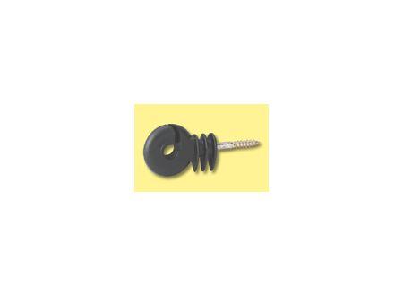Kerbl Ringisolator kompakt, kurze Stütze, schwarz 25 Stück bei handwerker-versand.de günstig kaufen