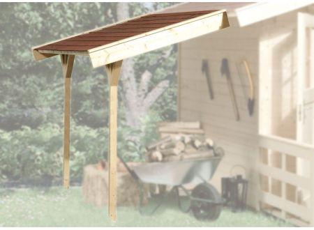 Weka Schleppdach für Gartenhaus ab Haustiefe 200 cm