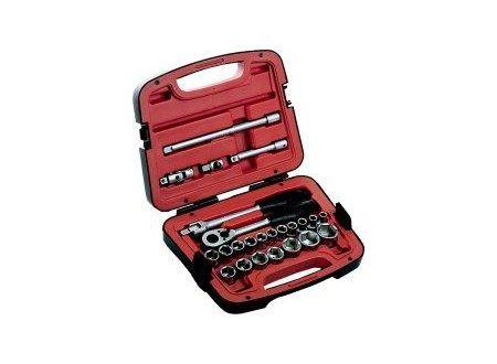 Bahco-Belzer Steckschlüsselsatz 12,7mm (1/2) 24 teilig Bahco