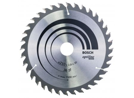 Bosch Kreissägeblatt Optiline Wood für Handkreissägen bei handwerker-versand.de günstig kaufen
