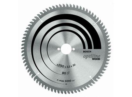 Bosch Kreissägeblatt 250x30 80WZ/N SB3,2 K&G Optilin bei handwerker-versand.de günstig kaufen