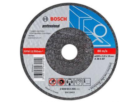Bosch Schruppscheibe 115x6 mm für Metall bei handwerker-versand.de günstig kaufen