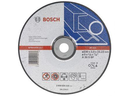 Bosch Trennscheibe 125X2,5 mm gekr. für Me bei handwerker-versand.de günstig kaufen