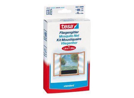 Tesa Fliegengitter, weiß, Standard 1,30m x 1,50m bei handwerker-versand.de günstig kaufen