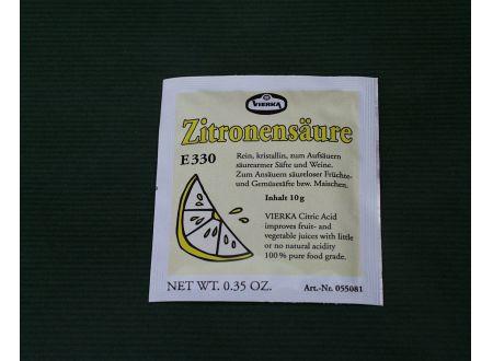 Vierka Zitronensäure 10g bei handwerker-versand.de günstig kaufen
