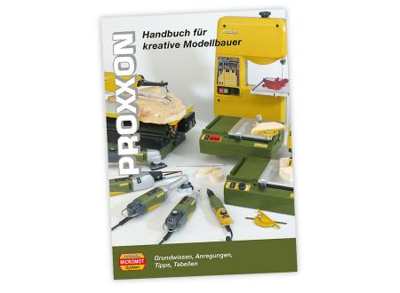 PROXXON Modellbauhandbuch vierfarbig 373 Seiten bei handwerker-versand.de günstig kaufen