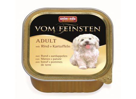 Animonda Dog vom Feinsten Adult mit Rind und Ka...