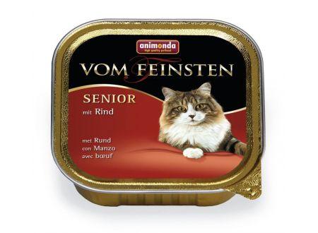Animonda Cat vom Feinsten Senior mit Rind 100 g Schale