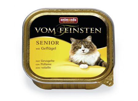 Animonda Cat vom Feinsten Senior mit Geflügel 100 g Schale