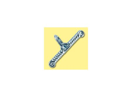 Kerbl Knebel mit Glied blank 6mm 2St. bei handwerker-versand.de günstig kaufen