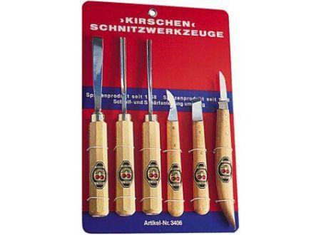 Kirsche Kerbschnitzwerkzeug 6 teilig Nr.3406 bei handwerker-versand.de günstig kaufen