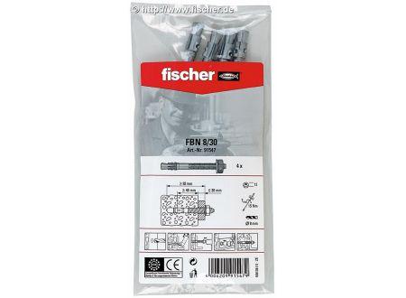 fischer SB Bolzen Fischer FBNII 8/30B 10x4 4St. bei handwerker-versand.de günstig kaufen