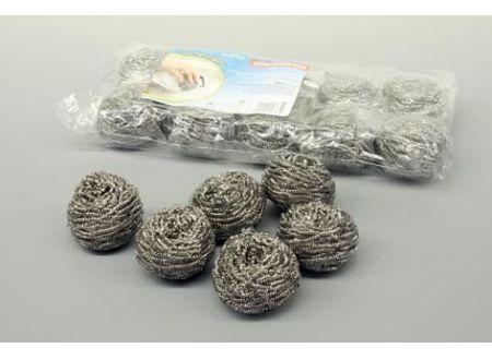 Bürstenmann Topfreiniger 10 Stück Edelstahlwolle bei handwerker-versand.de günstig kaufen