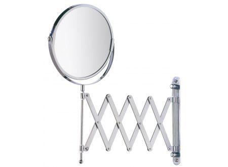 Kosmetikspiegel Exclusiv Wand chrom mit T.