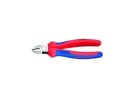 Knipex Seitenschneider poliert 125mm 2K.-Griff Knipex