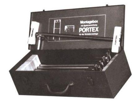 Klemmsia Montagebox mit 9 Portex-Spreizen bei handwerker-versand.de günstig kaufen