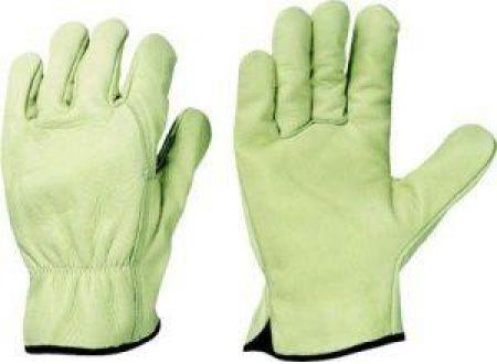 Stronghand Fahrerhandschuh Driver, Rindnappa, Größe 10, grün/beige Lieferumfang: 12 Paar