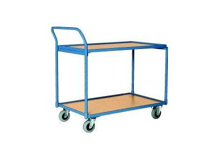 EDE Tischwagen 250 kg 1000x600 mm 2 Böden