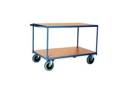 EDE Tischwagen 500 kg 1000x700 mm 2 Böden