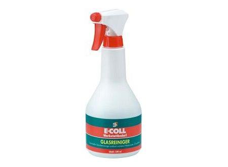 Glasreiniger 500ml Handsprühflasche E-COLL Lieferumfang: 12 Stück