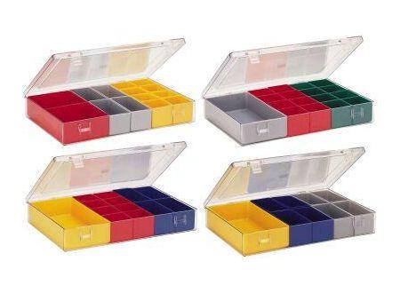 EDE Sortimentkasten mit Deckel 307x225x50 mm Typ 4.07 bei handwerker-versand.de günstig kaufen