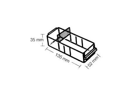 EDE Ersatz-Schublade Typ A H35xB52xT135 mm bei handwerker-versand.de günstig kaufen