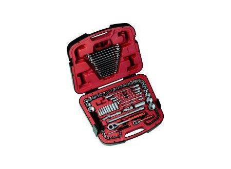 Bahco-Belzer Steckschlüsselsatz 6,3mm (1/4) / 12,7mm (1/2) 94 teilig Bahco
