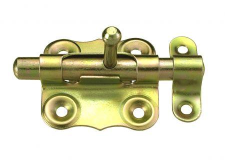 Connex Grendelriegel gelb verzinkt 40x40mm