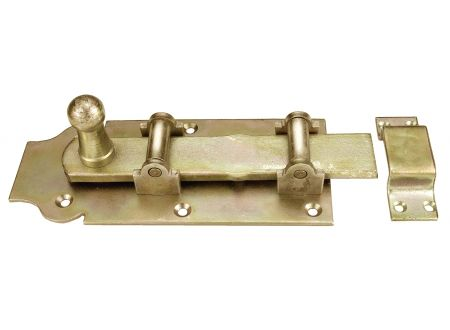 Rollenschloßriegel Knopfgriff bei handwerker-versand.de günstig kaufen
