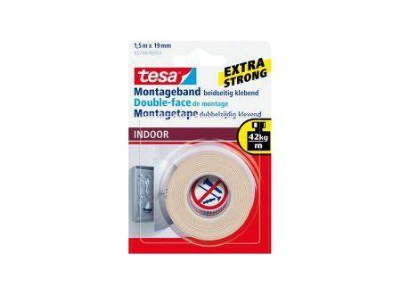 Tesa Montageband Indoor 1,5m:19mm bei handwerker-versand.de günstig kaufen