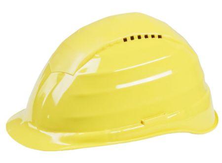 Schutzhelm gelb mit Belüftung bei handwerker-versand.de günstig kaufen