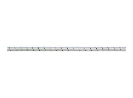 Gummikordel 8mm weiß-schwarz Meterware