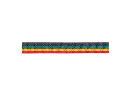 Gurtband Polypropylen 25mm schwarz-gelb Meterware