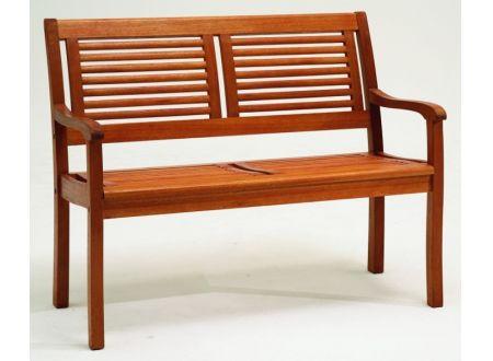HZL Bank Paolo 2-Sitzer Holz-Eukalyptus bei handwerker-versand.de günstig kaufen