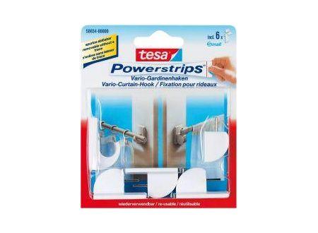 Tesa Powerstrips Gardinenhaken weiß bei handwerker-versand.de günstig kaufen