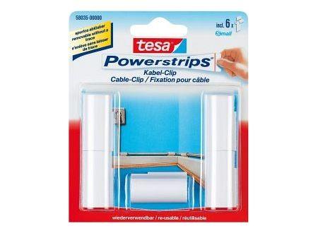 Frisch Tesa Powerstrips Kabel-Clip kaufen XR47