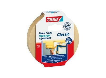 Tesa krepp 5282 50m:30mm Chamois bei handwerker-versand.de günstig kaufen