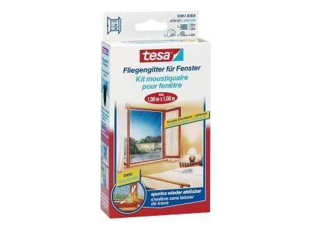 Tesa Fliegengitter Nr. 55396-121, 3m x 1,3m, anthrazit, für Fenster bei handwerker-versand.de günstig kaufen